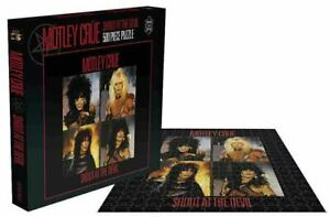 Motley Crue Shout At The Devil 500 Piece Jigsaw Puzzle - NEW