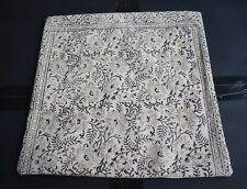 Hand Block Print Fabric Cushion Cover Floral Traditional Designer Cushion