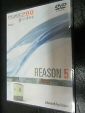 Music Pro Guides Reason 5 Advanced Learn to Play Birthday Present Music Dvd New