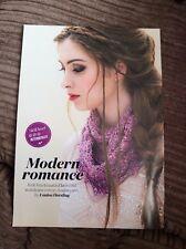 Modern Romance Azalea Yarn Cowl Knitting Pattern