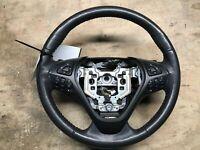 13 2013 Lincoln MKS Black Leather Steering Wheel OEM LKQ