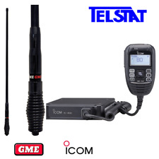 ICOM IC-450 (IC450) UHF CB Radio with GME AE4705B Black Antenna - AUS Stock