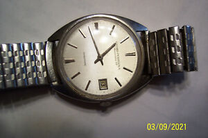 A vintage girard perregaux gyromatic 39 jewels automatic men wrist watch