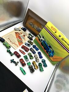 Hot Wheels Redline Filler Lot With Case That Has The Dividers