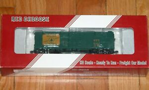 RED CABOOSE RR-37160-6 ARA X-29 BOXCAR WITH PLATE ENDS MAINE CENTRAL MEC 5184