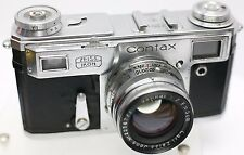 Rare Early Kiev Russian Zeiss Ikon Contax II Copy Rangefinder Camera Sonnar Lens