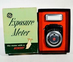 GE General Electric Type PR-1 Exposure Light Meter Bakelite w/ Box not working