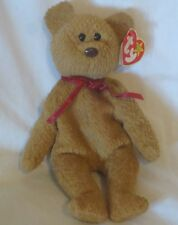 Ty Beanie Baby Curly The  Bear 4th Generation PVC Filled