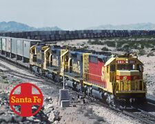 Santa Fe Kodachromes SD45-2u Logo Photo Sign