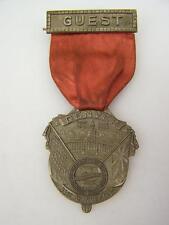 """US Motor coach Employees Assoc. medallion Hangar """"Guest"""" 1955 Denver    1702"""