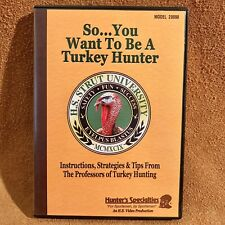 Hunter's Specialties So You Want To Be A Turkey Hunter DVD H S Strut University