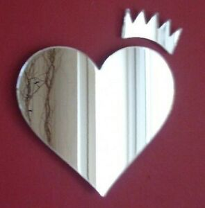 Heart and Crown Mirror