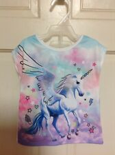 Girls Toddler Kids Clothing Outfit Shorts Set Unicorn