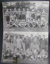 El Grafico Magazine Rugby Team San Isidro Buenos Aires On Cover 1922