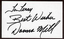 Donna Mills Signed Autographed Index Card - The Melchior Collection
