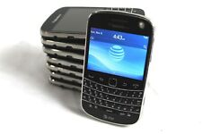 Lot of 8 BlackBerry Bold 9900 AT&T 8GB QWERTY GPS WiFi Touch Smartphone