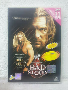 WWE WWF - Bad Blood 2003 PPV (DVD 2003) Pay Per View HELL IN A CELL Steve Austin