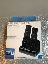 NEW Nyko Charge Station Dock 2 Rechargeable Battery Wii & U Controller Charging