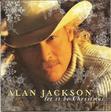 Alan Jackson Let It Be Christmas Holiday Music CD Sealed