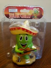 Solar Dancing Toys Green Mexican Chili Novelty Toy Solar Dancing Bobble SEALED