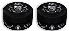 2 X Cera gel para el cabello bandido Aqua Negro - 150ml-máxima Pomada de retención