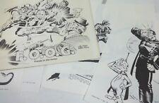 Friends of Old Gerber - Jack Kirby (10 Plates) Portfolio, Comic Style Art Prints