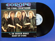 Europe - The Final Countdown / On Broken Wings / Heart Of Stone, Epic TA-7127