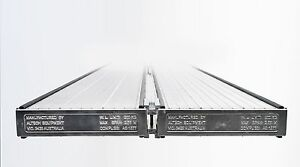 Aluminium Twin Plank Clamp Locks