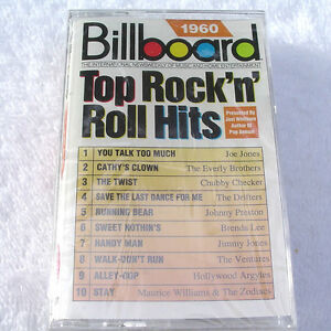 1960 Billboard TOP ROCK N ROLL Hits [Cassette] Various NEW SEALED! ~ USA SELLER