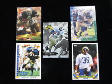 1993 Jerome Bettis rookie card lot   Notre Dame   Steelers   5 different RC s