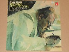MAX REGER - NEW STRING TRIO -Streichtrios Op. 77b und Op. 141b- LP