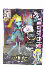 New Monster High Mattel Doll 13 Wishes Lagoona Blue Daughter Of the Sea Monster