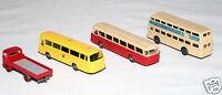 Wiking – Modellautos 3x Bus, Busse