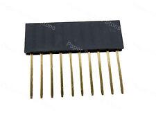 50pcs 10 pin 2.54p Stack 11mm Long Tall Leg Female Header Arduino Shield Pin PCB