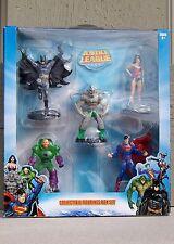 Justice League 5 Figure Superheroes & Villians Collectible Box Set - DC Comics
