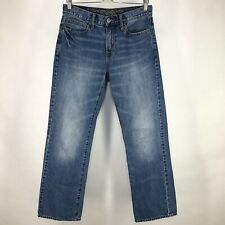 American Eagle Mens Bootcut Jeans 29 *Actual 30 x 32 Distressed Medium Wash