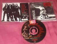 The Wild Life Slaughter CD GLAM ROCK 1992 Chrysalis ORIGINAL PRINTING ALBUM