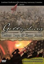 "New Civil War DVD ""Gettysburg: Darkest Days & Finest Hours"" 145th Reenactment"