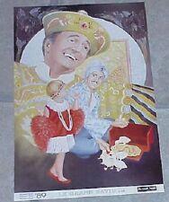 Grand David poster (Magic Hands collection, 1990's) -magic's great stars Tmgs