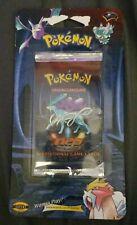 Factory Sealed Neo Revelation Blister Pack WOTC Pokemon Cards Suicine Artwork