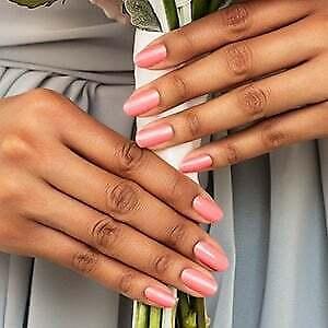 m9L3GoColorStreet CARIBBEAN CORAL Nail Strips BRAND NEW Coral Blush  **+TWOSIE**