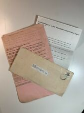 Homosexual Law Reform Letters from 1982 and Murder of George Duncan 1972