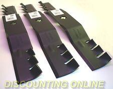 """3PK MULCH BLADES FITS CUB CADET MTD 50"""" i1050 RZT50 LT1050 SLT1050 LTX1050 04053"""