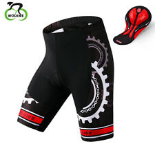 Mens Bike Shorts Pro Team Bicycle Half Pants With Gel Padded Cycle Clothing