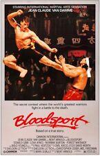 BLOODSPORT - CLASSIC MOVIE POSTER 24x36 - 52933