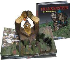 Frankenstein - ein Pop-Up Buch im Comic-Stil / spektakuläre 3D-Effekte (Sam Ita)