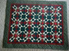 """Roses Handmade Lap Quilt 34"""" x 43"""""""