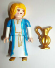 Playmobil,WOMAN WITH LONG BLONDE HAIR,PITCHER,GREEK/ROMAN