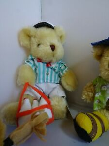 Fifteen assorted bears from the Teddy Bear Collection - all with labels