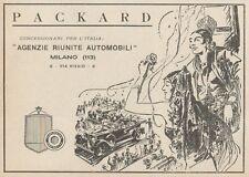 Z1603 Automobili PACKARD - Pubblicità d'epoca - 1930 Old advertising